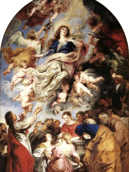 The Assumption of Mary by Rubens, circa 1626
